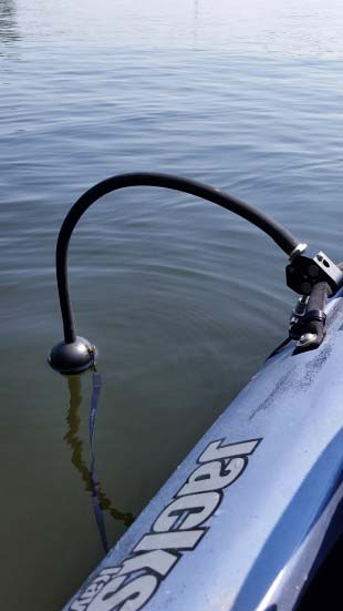 Deeper Fishfinder Kayak Mount
