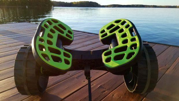 C-TUG Ultimate Kayak Cart on a dock