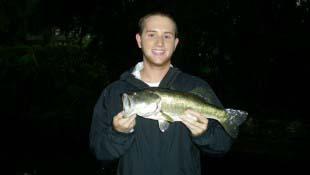 Bass Fishing Dark