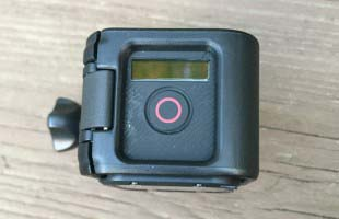 GoPro Session Top Button