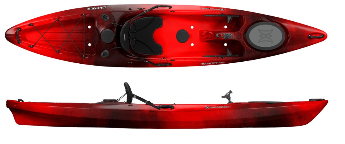 Best fishing kayaks 2017 bass grab for Perception fishing kayak