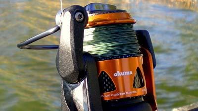 Tuf line duracast braided line bass grab for Best fishing line for bass baitcaster