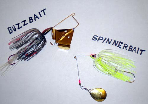 Buzzbait vs Spinnerbait